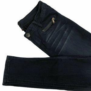 YMI Womens Slim Skinny Jeans Blue Love Juniors 7